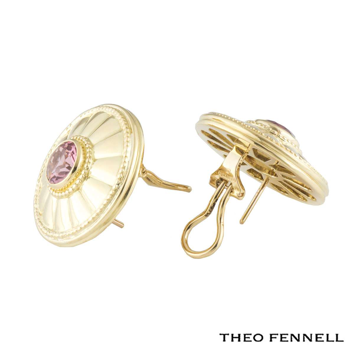 Theo Fennell Tourmaline Earrings